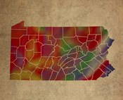 PA Colorful Counties
