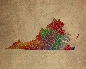 VA Colorful Counties