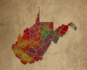 WV Colorful Counties