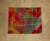 WY Colorful Counties