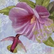 Humming Hibiscus I