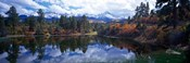 Reflection of Clouds in Water, San Juan Mountains, Colorado