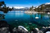 Rocks in Lake Tahoe, California