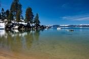 Scenic View of Lake Tahoe, California