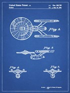 Blueprint Starship Enterprise Patent