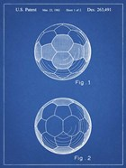 Blueprint Leather Soccer Ball Patent