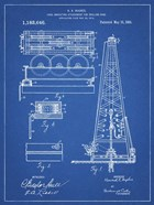 Blueprint Howard Hughes Oil Drilling Rig Patent