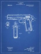Blueprint Colt 1911 Semi-Automatic Pistol Patent