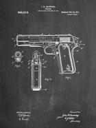 Chalkboard Colt 1911 Semi-Automatic Pistol Patent