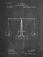 Chalkboard Scales of Justice Patent
