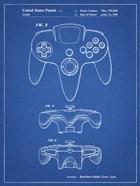 Blueprint Nintendo 64 Controller Patent