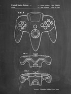 Chalkboard Nintendo 64 Controller Patent
