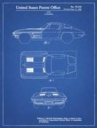 Blueprint 1962 Corvette Stingray Patent