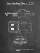 Chalkboard 1962 Corvette Stingray Patent