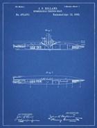 Blueprint Holland Submarine Patent