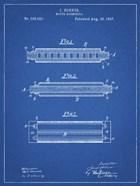 Blueprint Hohner Harmonica Patent