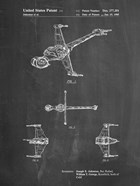 Chalkboard Star Wars B-Wing Starfighter Patent