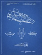 Blueprint Star Wars RZ-1 A Wing Starfighter Patent