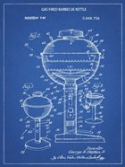 Blueprint Webber Gas Grill 1972 Patent