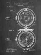 Chalkboard Waffle Iron Patent