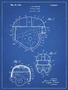 Blueprint Football Helmet 1925 Patent