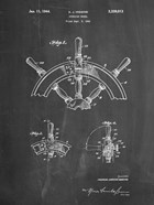 Chalkboard Ship Steering Wheel Patent