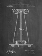 Chalkboard Tesla Energy Transmitter Patent