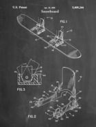 Chalkboard Burton Baseless Binding 1995 Snowboard Patent