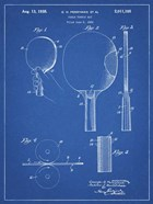 Blueprint Ping Pong Paddle Patent