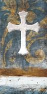 Cross On Blue