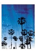 Palm Peach Night Blue