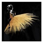 Golden Dress Puff Mate