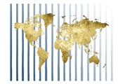 Striped Map