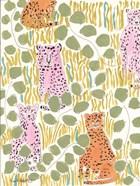 Hello Cheetah - Pink & Orange