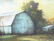 Rustic Blue Barn