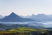 Landscape of mountain, between Aksum and Mekele, Ethiopia