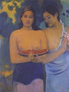Two Women from Tahiti