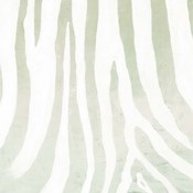 Soft Animal Prints Gray Zebra