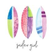 Sports Girl Surfer