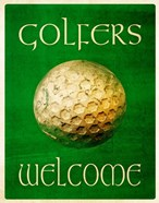 Golfers Welcome