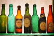 Vintage Guiness Bottles