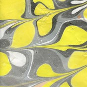 Yellow and Gray Marble I