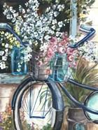 Vintage Bike and Mason Jar