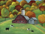 Colors of Autumn Barnyard