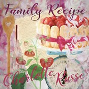 Family Recipe Charlotte Russe
