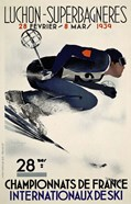 French Ski Competition 1939