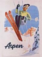 Vintage Aspen Ski Lift