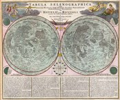 Map Of The Moon-Geographicus-Tabula Selenographica Moon Doppelmayr 1707
