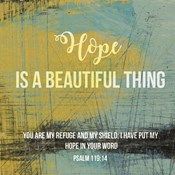 Hope is a Beautiful Thing