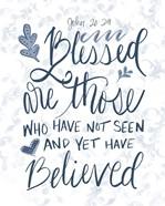 John 20:29 Handlettered